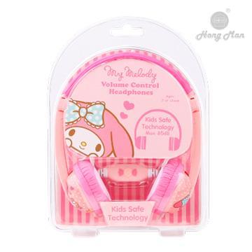 Hong man 三麗鷗系列 兒童耳機-美樂蒂