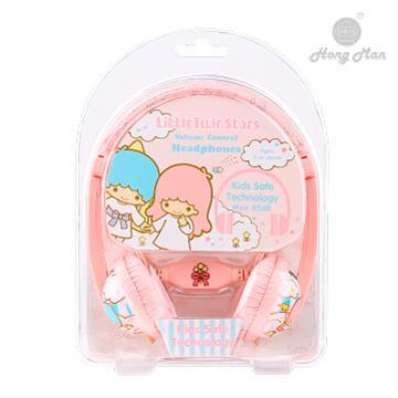 Hong man 三麗鷗系列 兒童耳機-雙子星