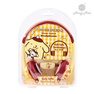 Hong man 三麗鷗系列 兒童耳機-布丁狗