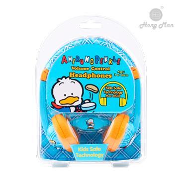 Hong man 三麗鷗系列 兒童耳機-貝克鴨 KC01VL-AP