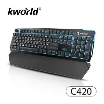 廣寰 C420電競機械鍵盤 (青軸)