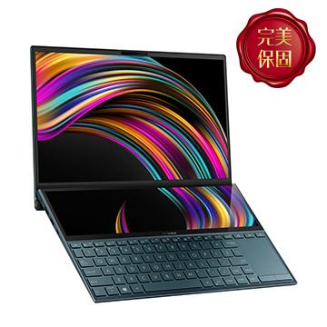 華碩ASUS Zenbook Duo UX481FL-藍 14吋筆電(i5-10210U/MX250/8GD3/512G)
