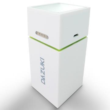 DAZUKI 10400mAh戶外LED手電筒行動電源-白