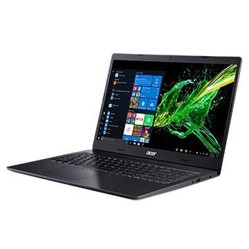 ACER A315-黑 15.6吋窄邊框筆電(N4000/4GD4/1TB)