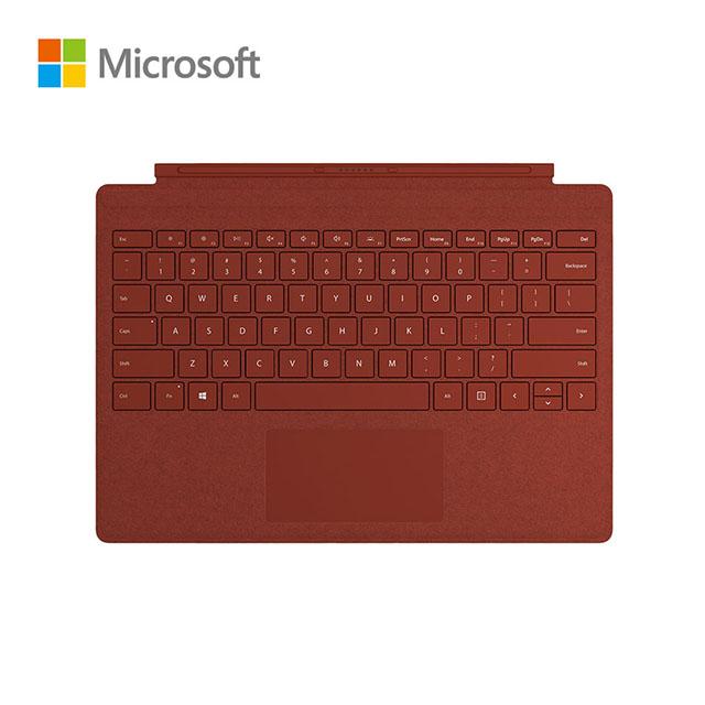 Microsoft微軟 Surface Pro 實體鍵盤 緋紅