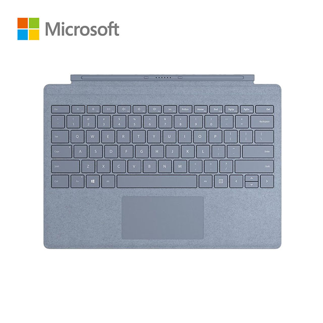 Microsoft微軟 Surface Pro 實體鍵盤 冰藍