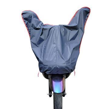 【OMyCar】機車龍頭罩加長版-深藍色