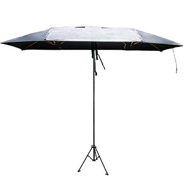 【任我行】休閒遮陽傘架組 車用/休閒兩用