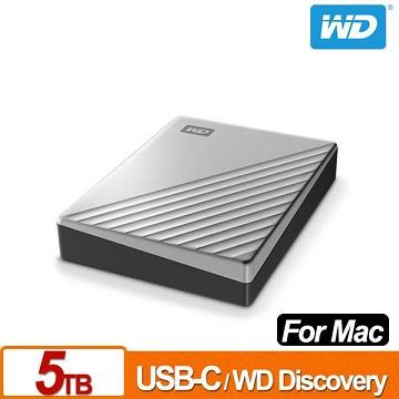 【5TB】WD 2.5吋 行動硬碟My Passport for Mac