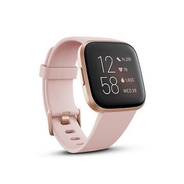 Fitbit Versa 2 健康運動智慧手錶-粉