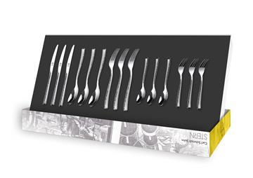 德國CS不銹鋼餐具15件組