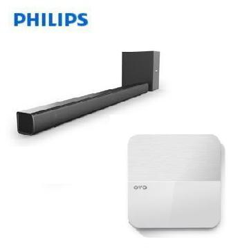 PHILIPS 藍牙微型劇院 + OVO 4K心影音智慧電視盒