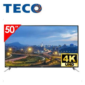 【展示機】東元50型Smart連網顯示器+視訊盒