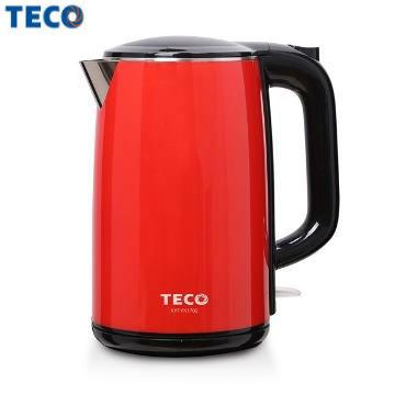 【展示品】TECO 1.7L雙層防燙不鏽鋼快煮壺 XYFYK1702