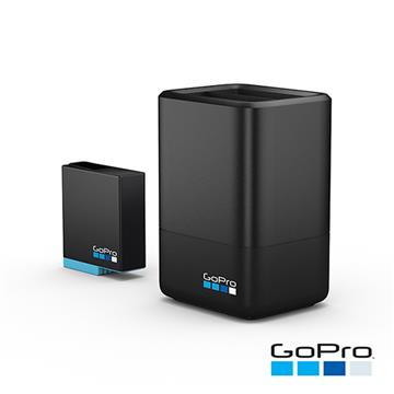 GoPro HERO8 專用雙電池充電器+電池