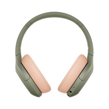 SONY索尼 無線藍牙降噪耳罩耳機-綠