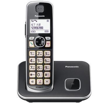 Panasonic中文輸入大字鍵數位無線電話 KX-TGE610TWB