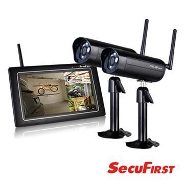 SecuFirst 數位無線網路監視器