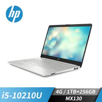 HP惠普 15s 筆記型電腦 (i5-10210U/MX130/4GB/256GB+1TB)