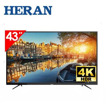 (展示機)禾聯HERAN 43型 4K聯網顯示器