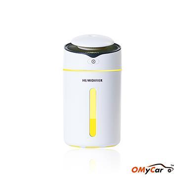 【OMyCar】炫彩加濕噴霧器 含璀璨花園精油