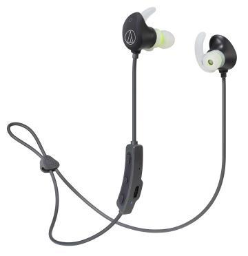 (福利品)鐵三角Audio-Technica 運動藍牙耳機-黑