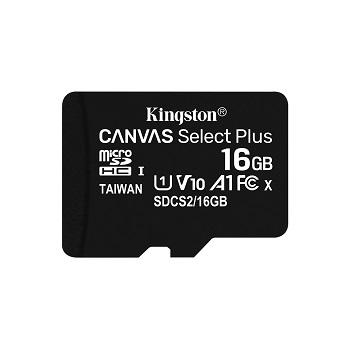 金士頓 MicroSDCS2(C10) UHS-I 16GB記憶卡