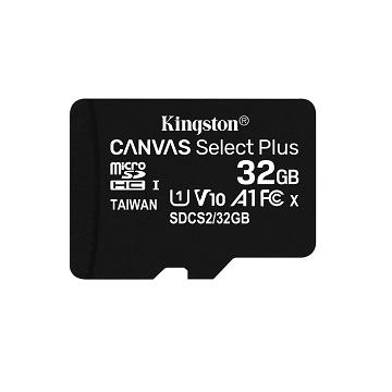 金士頓 MicroSDCS2(C10) UHS-I 32GB記憶卡