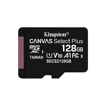 Kingston金士頓 MicroSDCS2 C10 UHS-I 128GB記憶卡