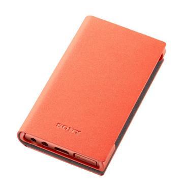 SONY A100系列 MP3專用皮套(橘)