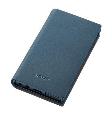 SONY A100系列 MP3專用皮套(藍)