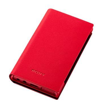 SONY A100系列 MP3專用皮套(紅)