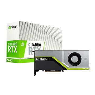 麗臺 Quadro RTX5000 繪圖顯示卡 RTX5000