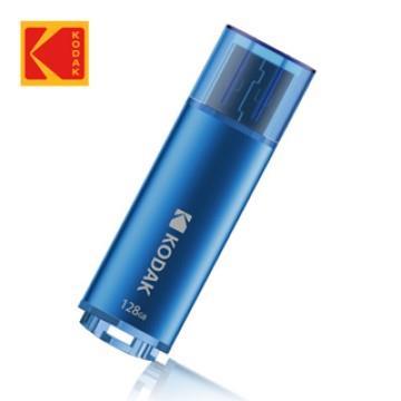 Kodak K243 128G金屬隨身碟-藍