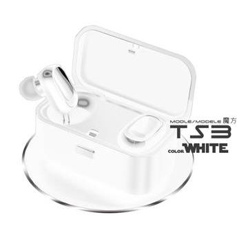 MINe峰 魔方真無線藍牙耳機-白 MCK-TS3-W