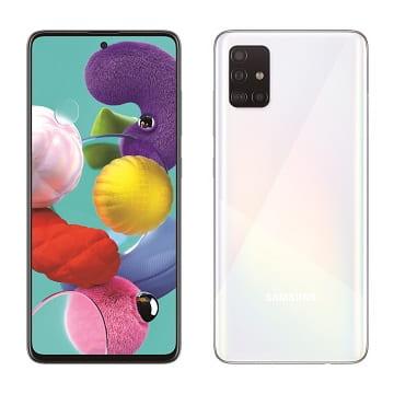 SAMSUNG Galaxy A51 智慧型手機 SM-A515FZWGBRI晶礦白