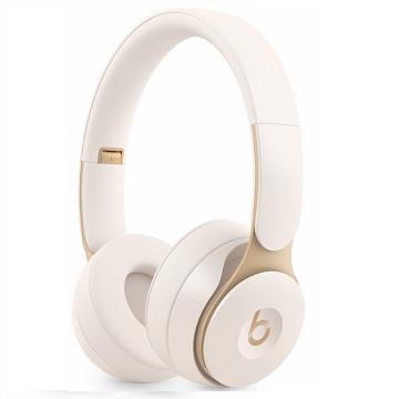 Beats Solo Pro Wireless 頭戴式降噪-牙白