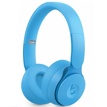 Beats Solo Pro Wireless 頭戴式降噪-淡藍