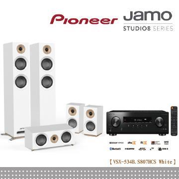 Pioneer x Jamo 五聲道劇院組