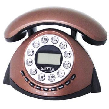 (整新品)Alcatel 古典造型來電顯示電話