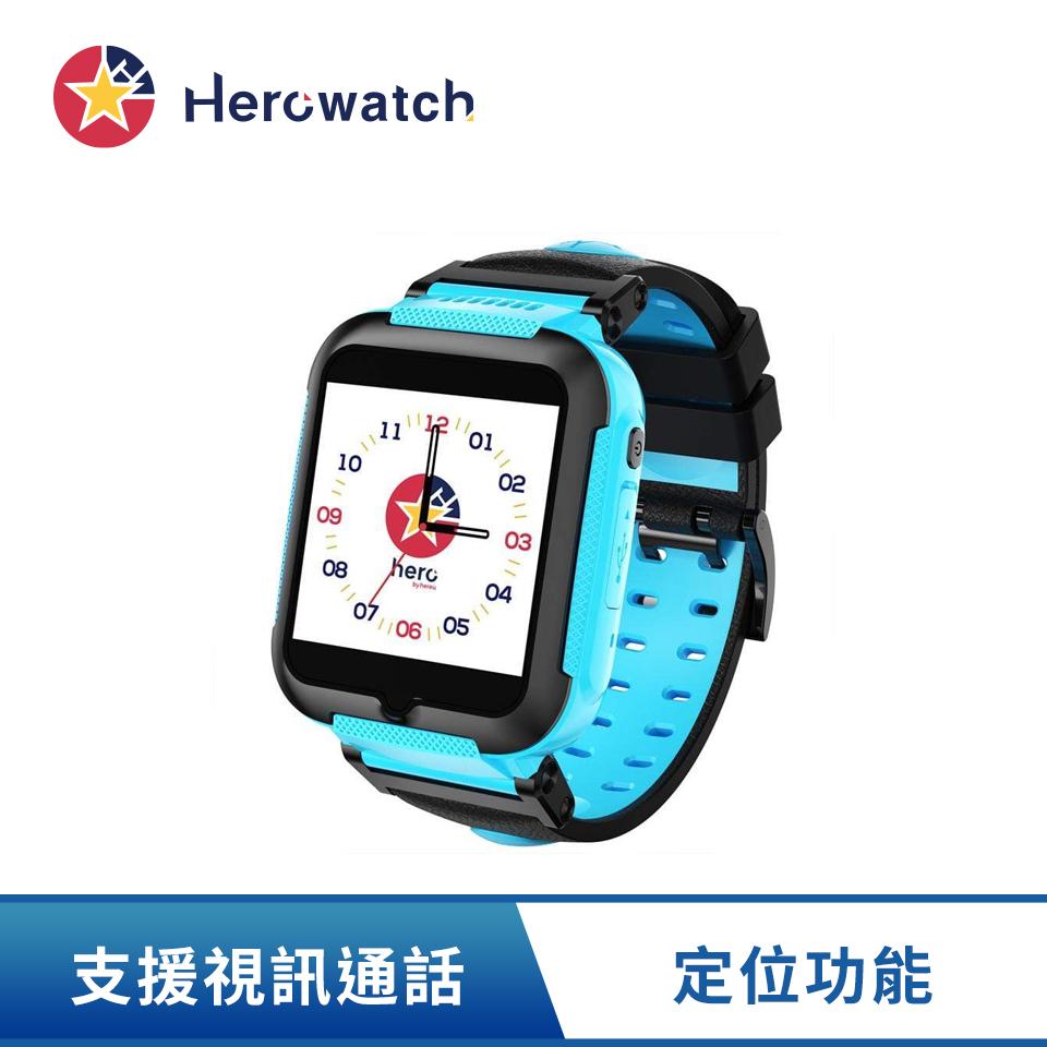 Hereu hero 4G兒童智慧手錶 英雄藍