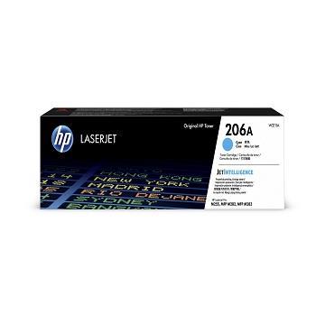 惠普HP 206A 青色原廠碳粉匣 W2111A