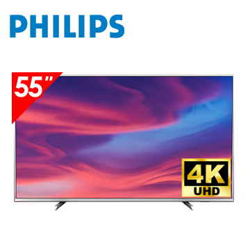 飛利浦PHILIPS 55型 4K ULTRA HD LED顯示器