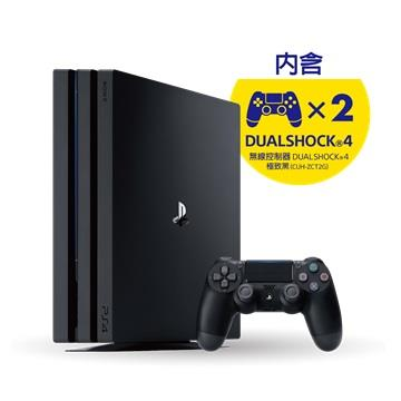 PS4 Pro 1TB 控制器同捆組(黑)