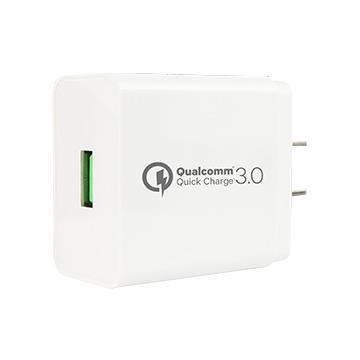 Gigastone QC3.0快速充電器-白 GA-8121W