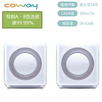 【雙機組】Coway 18坪旗艦環禦型空氣清淨機