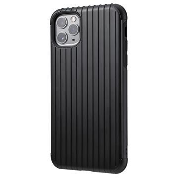 Gramas iPhone 11 Pro防摔經典手機殼-黑