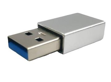 ZBAND Type C轉USB鋁合金轉接頭-銀