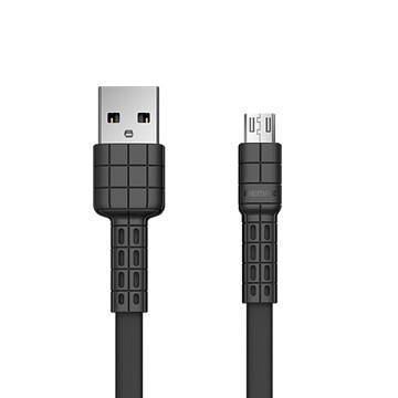 REMAX Micro 2.4A充電傳輸線-1M(黑) RC-116m-ba