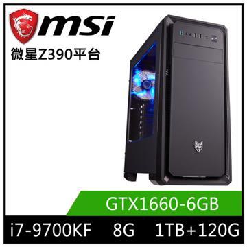 微星平台[星俠遊俠]i7八核獨顯SSD電腦